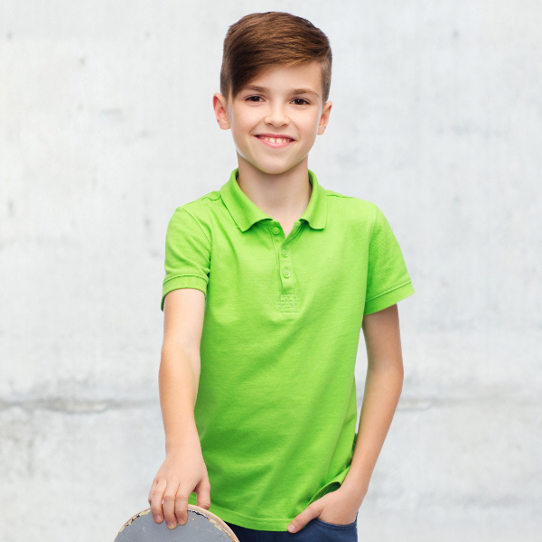 Boys' Polo Shirts Manufacturer China