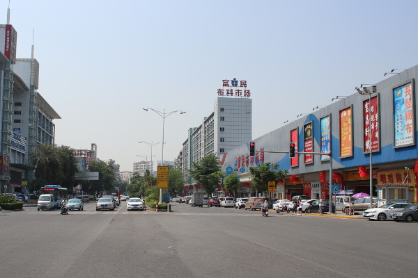 Dongguan Humen Fabric and Accessory Markets
